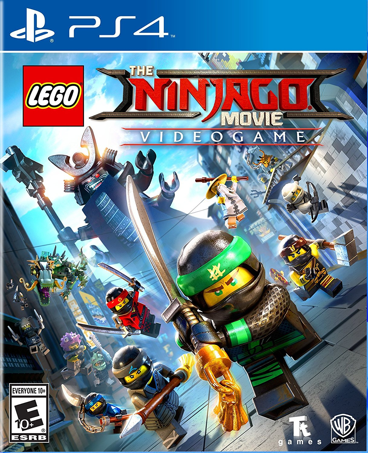 PS4 The Lego Ninjago Movie Videogame (PlayStation 4)