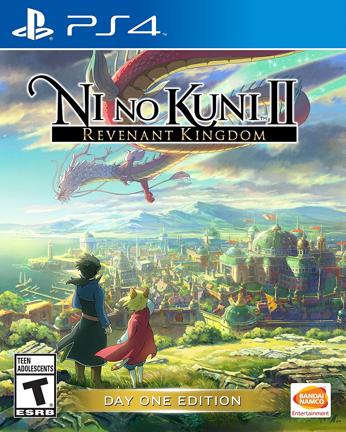 PS4 Ni no Kuni 2 II Revenant Kingdom (PlayStation 4)