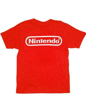 Nintendo Logo T-shirt Red