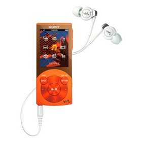 Sony NW-S644 Orange - 8GB