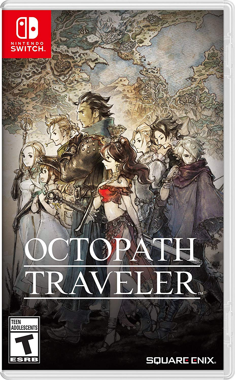 Octopath Traveller Nintendo Switch USA