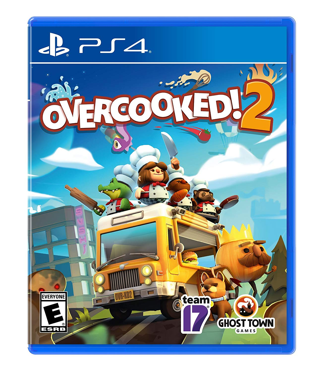 PS4 Overcooked 2 em Português (PlayStation 4)