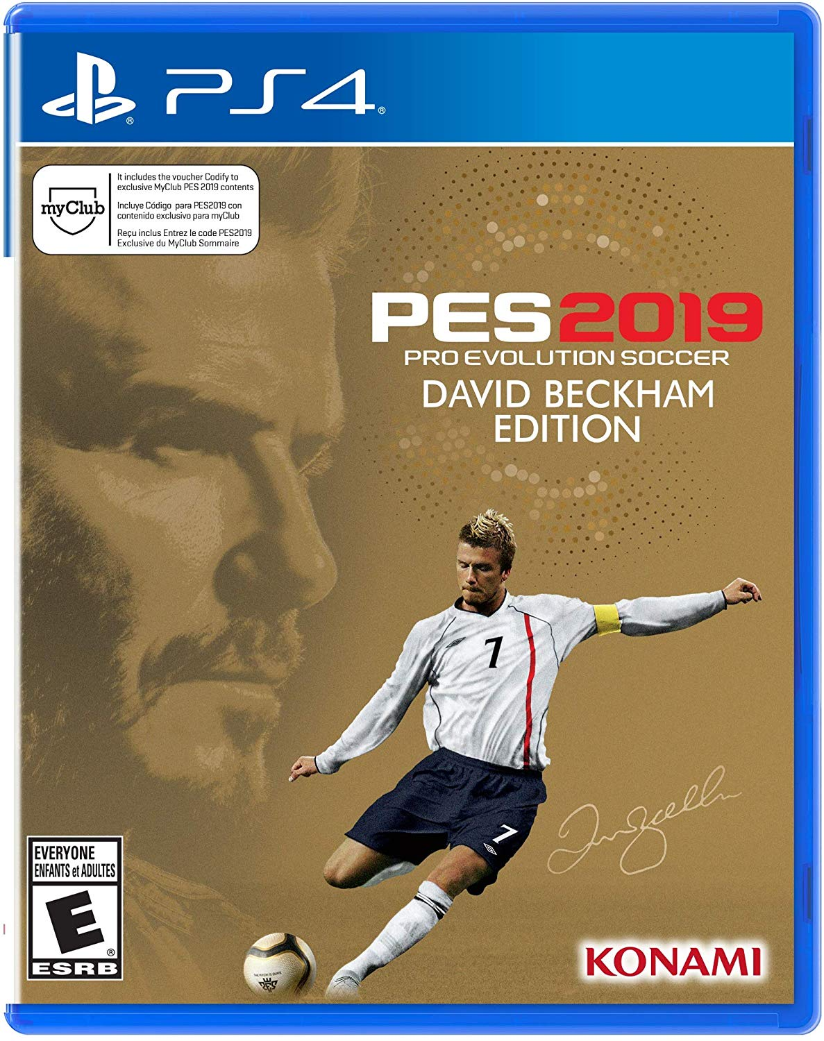 PS4 PES Pro-Evolution Soccer 2019 David Beckham Edition