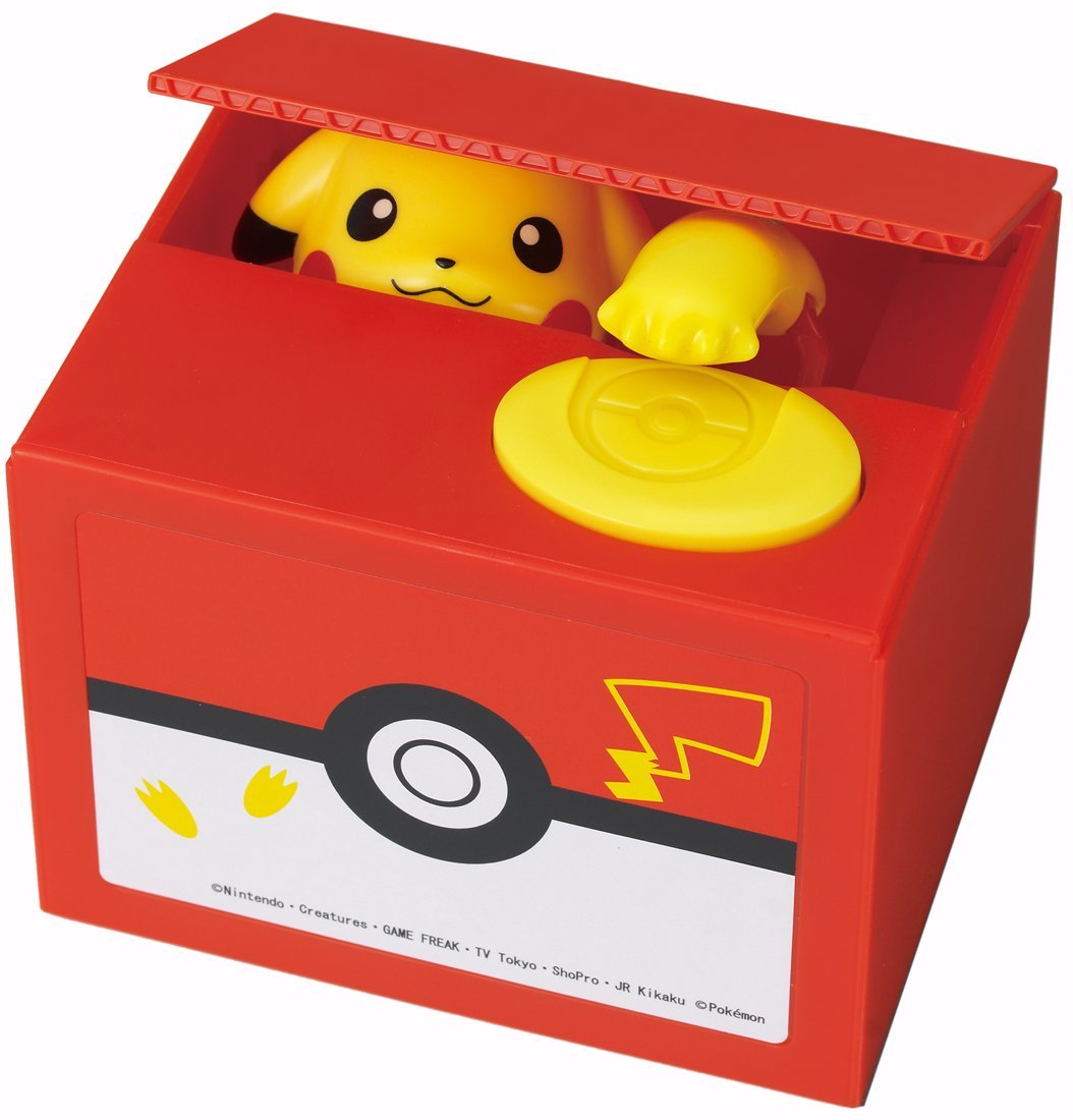 Cofre Pikachu Coin Bank Pokemon