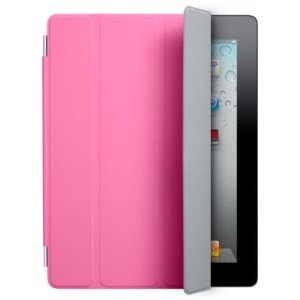 Apple iPad 2 Polyurethane Smart Cover - Pink