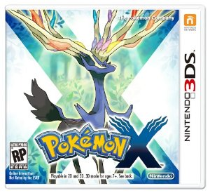 3DS - Pokémon X 3D US