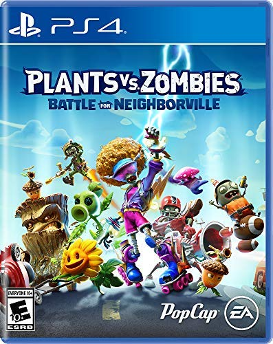 PS4 Plants Vs. Zombies: Battle for Neighborville Portugues e Esp