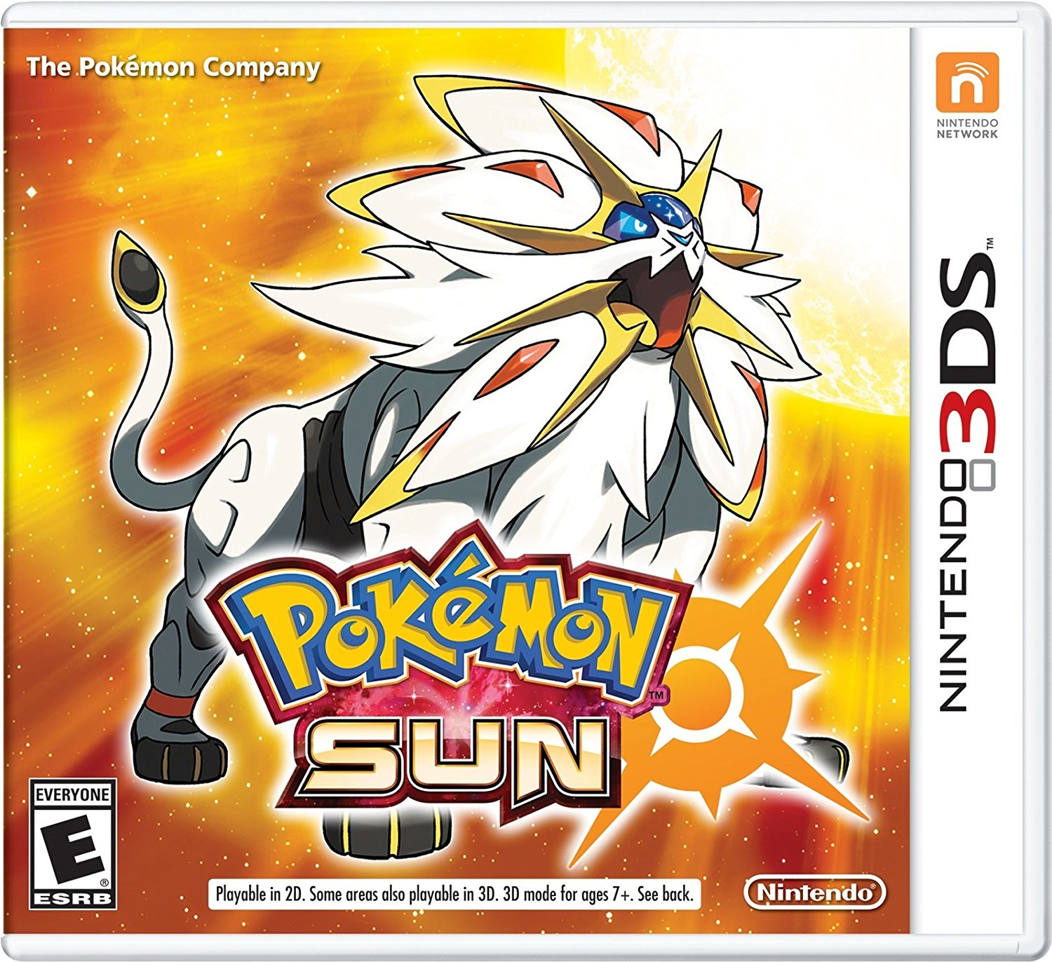 3DS - Pokémon Sun US