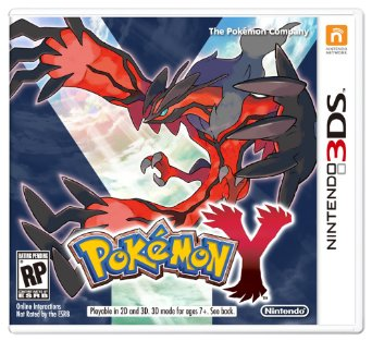 3DS - Pokémon Y 3D US