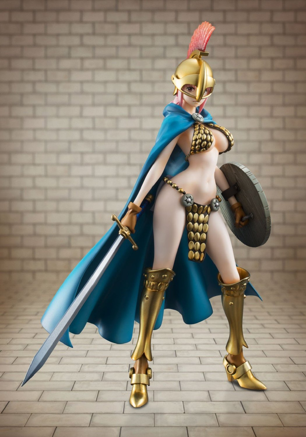 Megahouse One Piece POP Rebecca The Gladiator Excellent Model