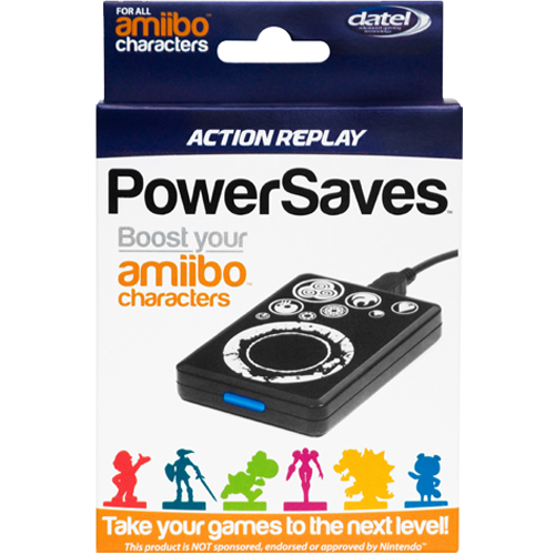 Action Replay Powersaves For Amiibo Character Boost And Cheats