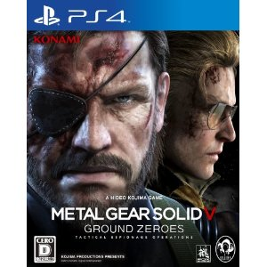 PS4 Metal Gear Solid V: Ground Zeroes (PlayStation 4) JPN