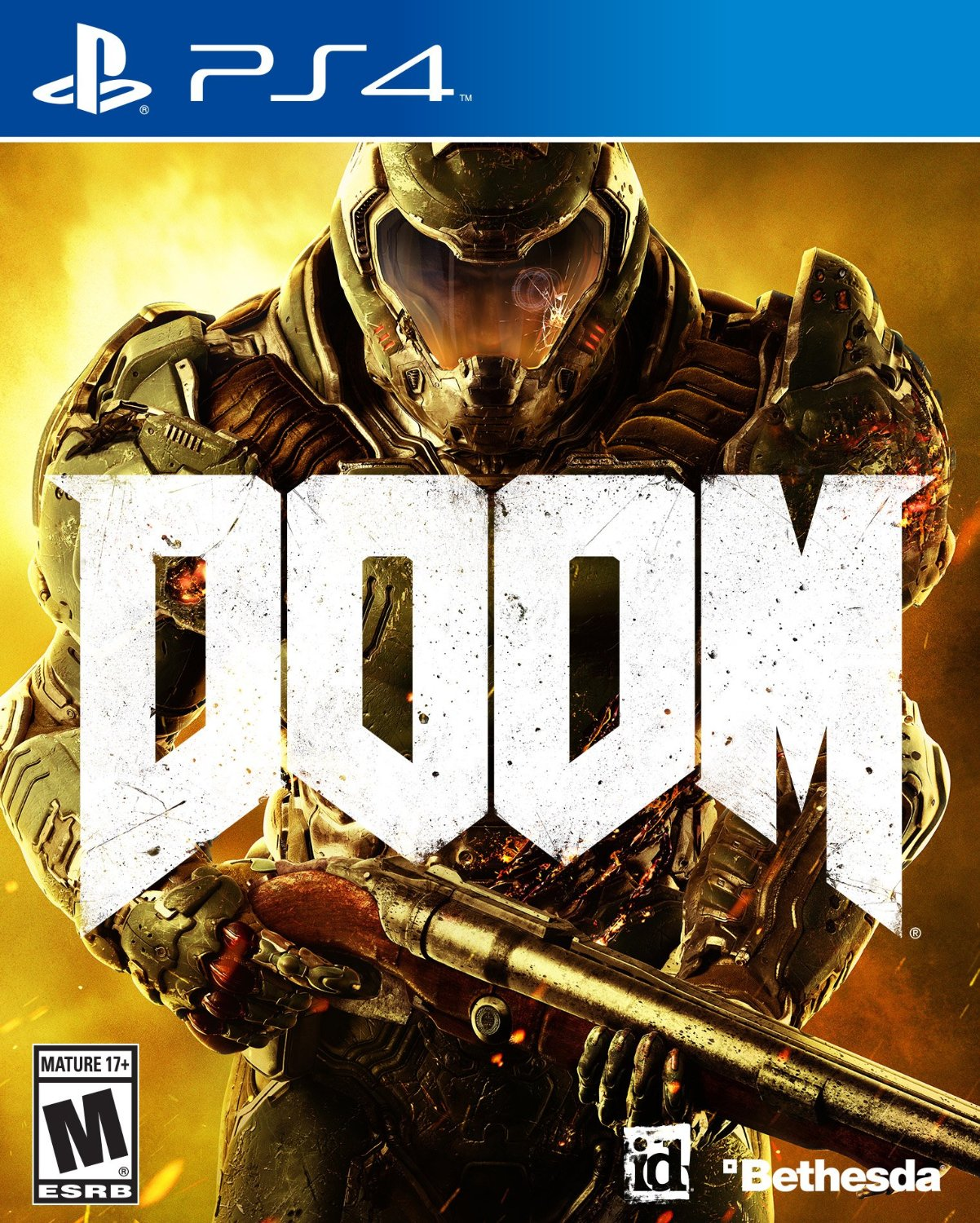 PS4 Doom em Portugues e Espanol (PlayStation 4)