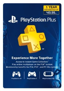 PSN 1 ANO PlayStation Plus Membership USA PS3 PS4 PS Vita
