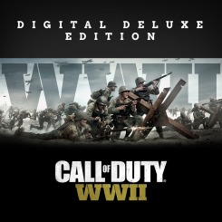 PS4 Call of Duty WWII Digital Deluxe em Portugues Cartão Psn Bra