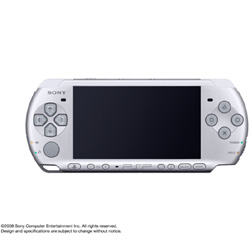 PSP PlayStation Portable Slim & Lite - Mystic Silver (PSP-3000MS