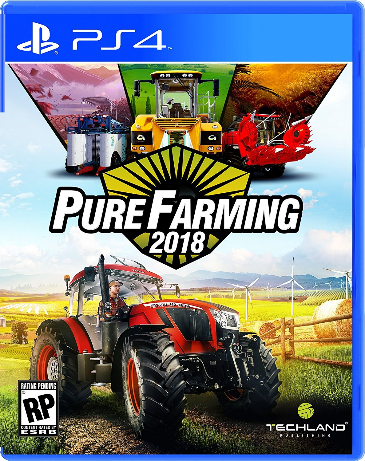 PS4 Pure Farming 2018 (PlayStation 4)