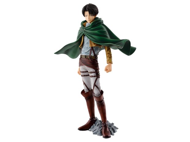 Attack on Titan The Levi SCultures BIG 25cm