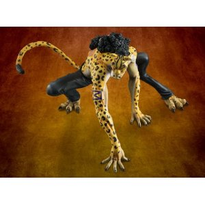Megahouse One Piece P.O.P. Leopard Version Rob Rucchi Mas