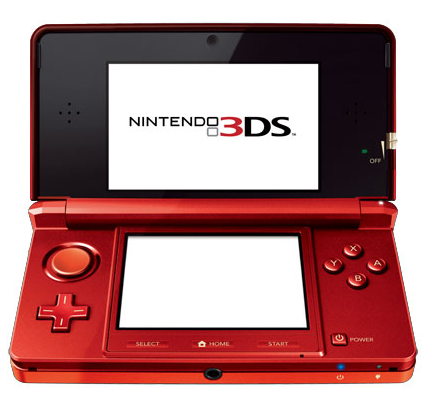 Nintendo 3DS Americano - Flame Red