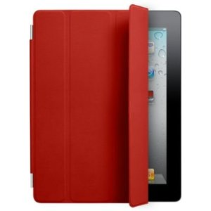 Apple iPad 2 Polyurethane Smart Cover - Red