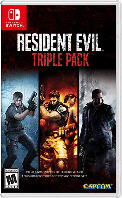 Resident Evil Triple Pack Nintendo Switch USA