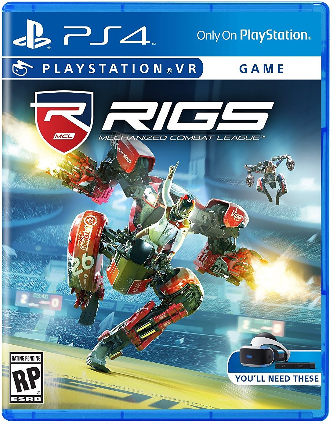 PS4 PSVR RIGS Mechanized Combat League