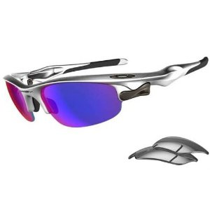Oakley Silver/Light Positive Red Iridium & Slate