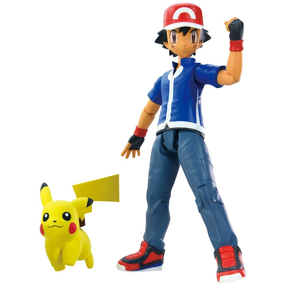 Pokemon Monster Collection Ash Ketchum Satoshi Pikachu Set
