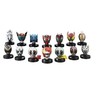 Kamen Rider Mas-Collection Best Selection 8 unidades