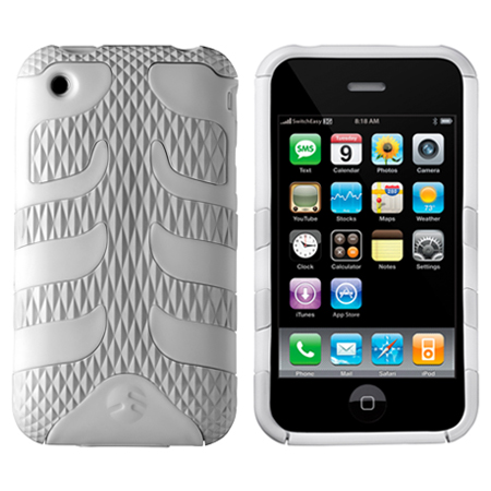 Capsule Rebel for iPhone 3G - Serpent White Limited Edition