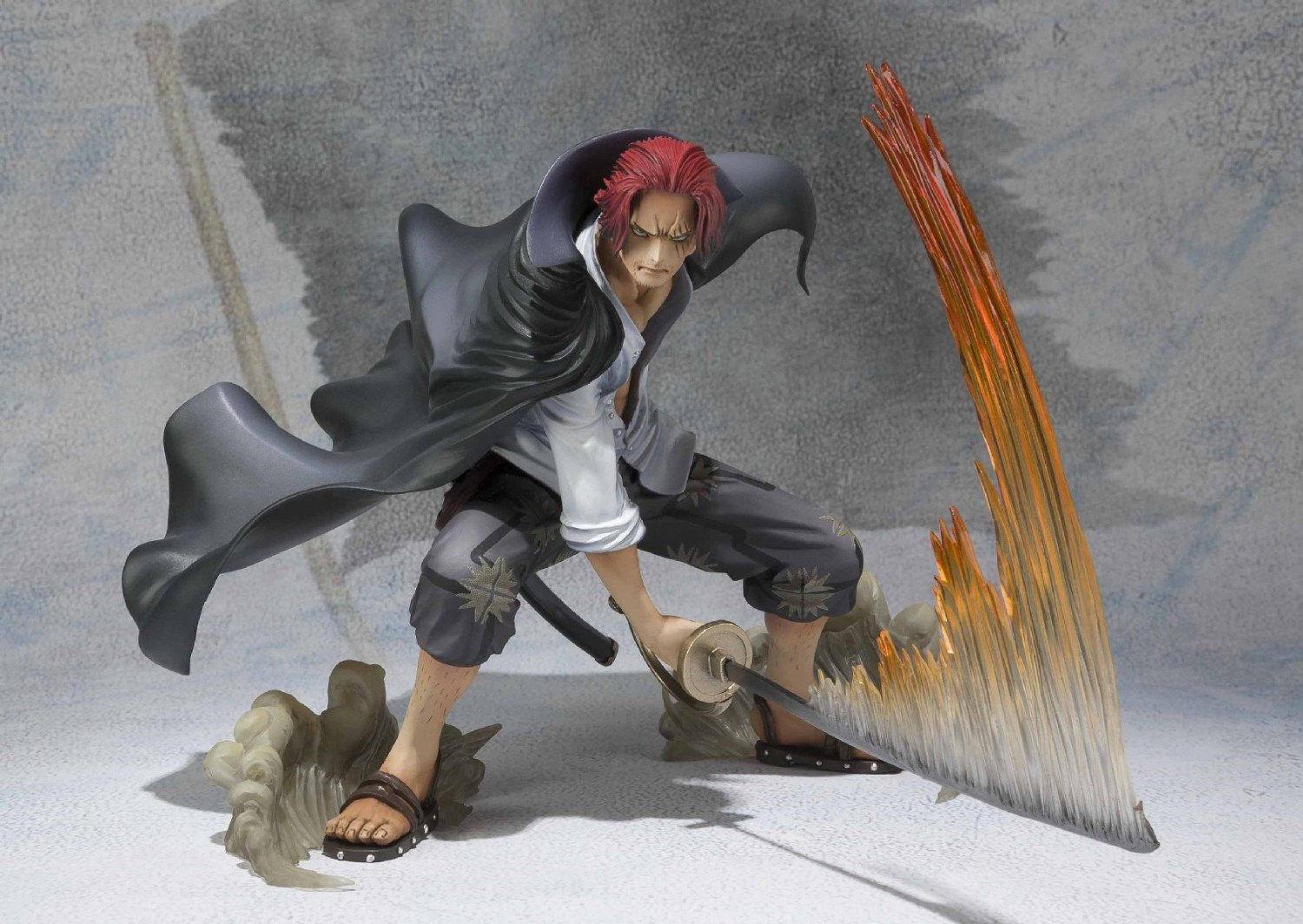 Tamashii Nations Figuarts Zero Shanks Battle Version