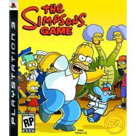 The Simpsons Game for PS3 US