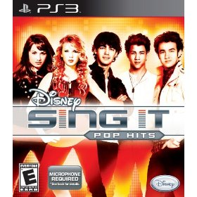Disney Sing It: Pop Hits for PS3 US