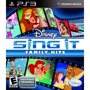 Disney Sing It: Family Hits for PS3 US