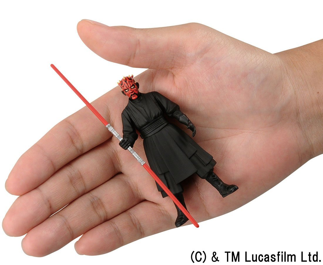 Miniatura Star Wars 13 Darth Maul Figure Metal