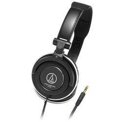 Audio-Technica ATH-SJ5 Portable Headphones - Black