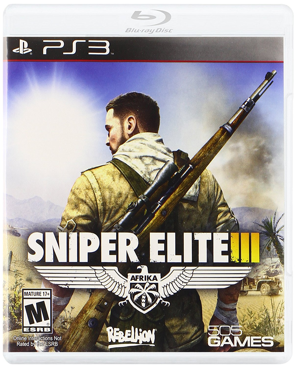 Sniper Elite 3 em Portugues for PS3 US
