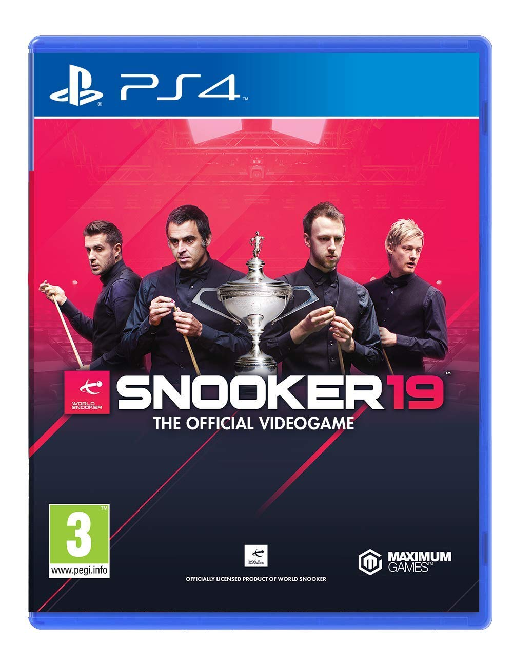 PS4 Snooker 19 The Official Video Game