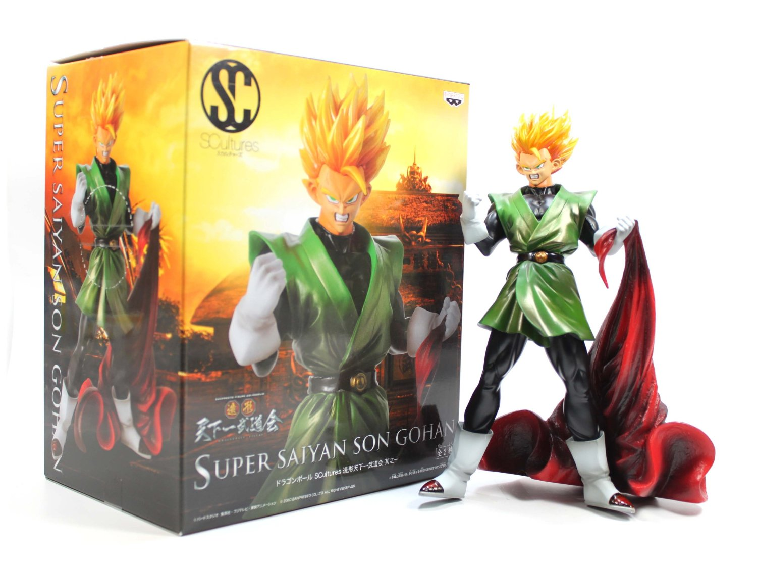 Super Saiyan Son Gohan Dragon Ball Z Kai SCultures