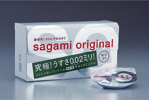Condoms Sagami Original 0.02 a camisinha mais fina do mundo