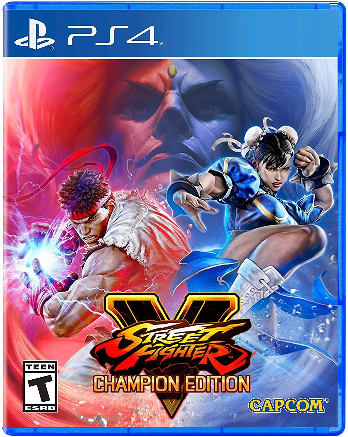 PS4 Street Fighter V Champion Edition em Português e Español