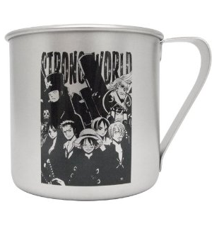 Caneca One Piece Strong World Luff Pirates