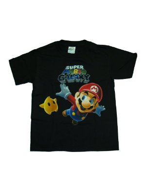 Nintendo Camiseta Mario - Galaxy Wii Youth