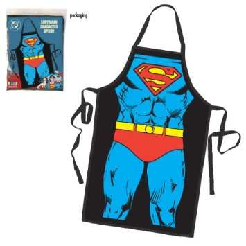 Avental Superman Character Costume