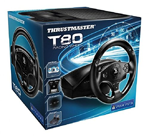Thrustmaster T80 Racing Wheel for PS4 e PS3