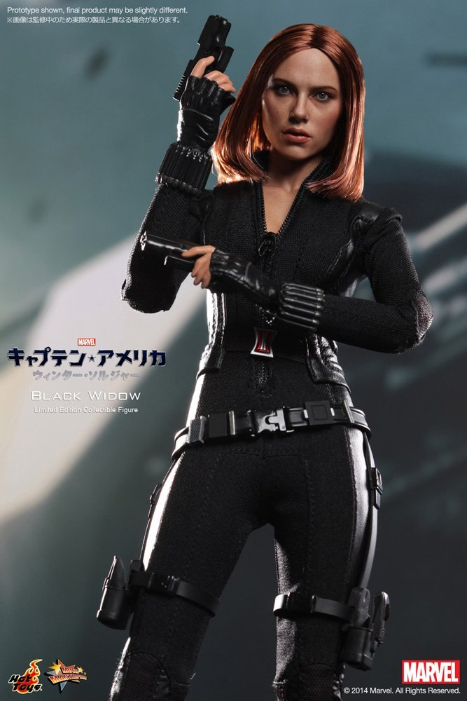 Captain America The Winter Soldier Black Widow 1/6