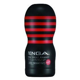 TENGA HARD Deep Throat Cup [Adulto]