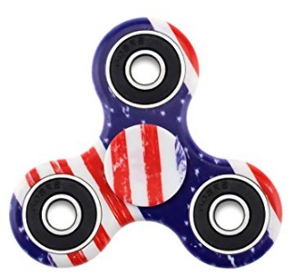 US Flag Toy Fidget Hand Spinner Anti Stress Ansiedade TDAH