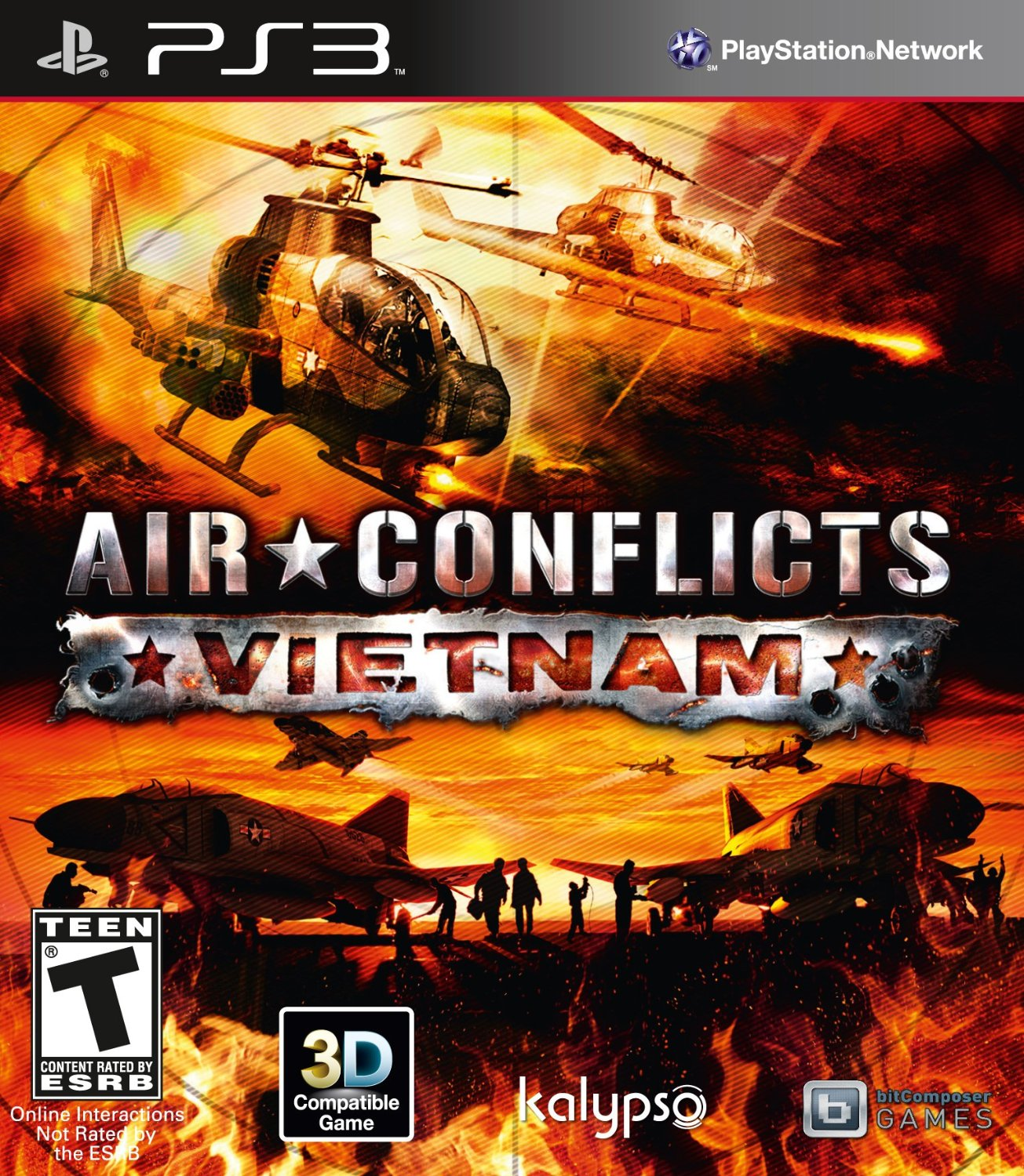 Air Conflicts: Vietnam for PS3 US